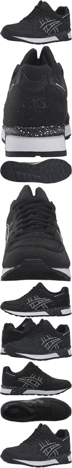 ASICS Men's Gel-Lyte Speed Fashion Sneaker, Black/Black, 12 M US