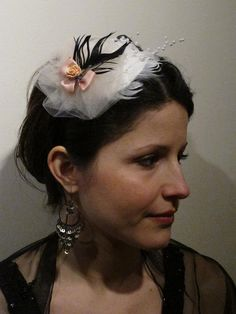 Parisian Fascinator Photo By: Al Uehre My Portfolio, Fascinator, Parisian, Crown, Jewelry, Fashion, Headpiece, Corona, Jewlery