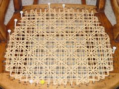 Daisy & Buttons Chair Caning -