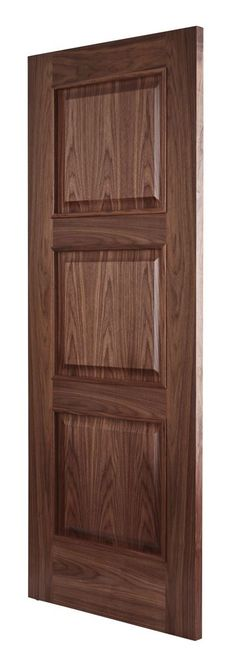 Almeria Walnut Bespoke Door -Angle