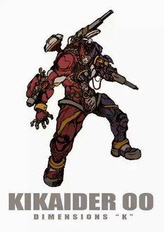 """キカイダーOO DIMENSIONS """"K"""" by zakkizaki Character Design, Character Art, Illustration, Kamen Rider, Creature Picture, Manga Games, Robot Cartoon, Hero, Action Poses"""