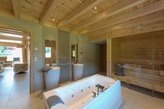 Chalet de charme and Chalet bien-être - 2 new wellness chalets one of 100m2 and 150m2 with sauna and bubble bath.   #LUMIHOME #LUMIHOUSE #France #lumipolar #loghouse #PolarLifeHaus #uniquehouse #Chalet  #Chalain #timber #tree #french #slowlife #design #house #architecture #wooden #relax #ecohouselove #spa #likeorganic #bubblebath #holidays #vacantion #family #woodplanet #honkatalot #Marigny #luxury #villa