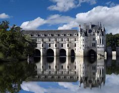 Ch?teau de Chenonceau in Chenonceaux, France was once a gift from King Francis I to his mistress, Diane de Poitiers. After the king's death, his widow Catherine de Medici forced Diane de Poitiers to exchange Chenonceau for the queen's palace at Chaumont. Photo: St. Nick