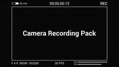 Check out Camera Recording Pack here: https://motionarray.com/motion-graphics-templates/camera-recording-pack-37368 #videoediting #motionarray