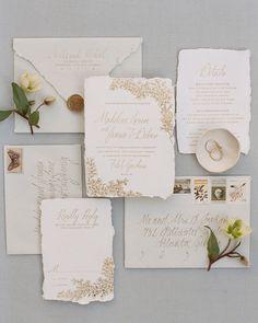 Ink Ivory Wedding Invitations, Addressing Wedding Invitations, Letterpress Invitations, Wedding Envelopes, Invitation Paper, Elegant Wedding Invitations, Wedding Stationery, Invitation Suite, White Envelopes