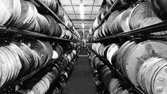 Film cans at the BBC's Windmill Road facility