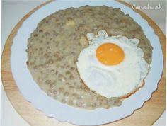 Liptovský šošovicový prívarok Eggs, Cooking, Breakfast, Zdravo, Bulgur, Chef Recipes, Kitchen, Morning Coffee, Egg