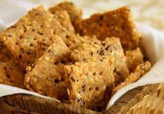 Biscoito de Gergelim (vegana)