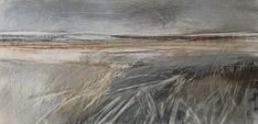 'Stormy Skies', Janine Baldwin, pastel, charcoal and graphite on paper, 23 x… Paintings I Love, Seascape Paintings, Landscape Paintings, Beautiful Sketches, Elements Of Art, Abstract Landscape, Art Techniques, Traditional Art, New Art