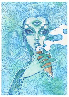 """""""Ethereal"""" Limited Print - S · AudraAuclair · Online Store Powered by Storenvy"""