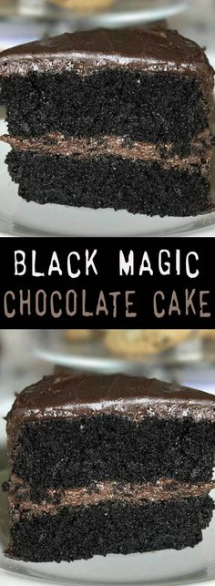 Black Magic Chocolate Cake Recipe. #CompleteRecipes #recipe #recipes #food #foodgasm #cleaneating #healthyfood #healthy #healthyrecipes