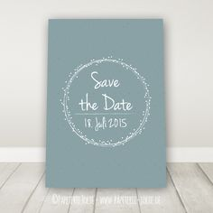 """Save the Date """"Dots"""""""