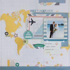 Destination by PP Guest Designer Carri Powers - Scrapbook.com