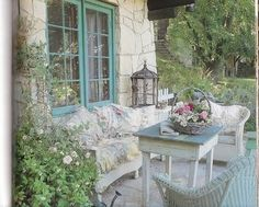 Shabby Chic: Shabby Chic ~ Romantic Porches