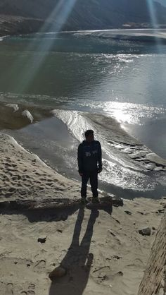 At indus river confluence