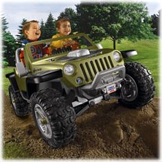 Shop for Power Wheels® Jeep® Hurricane with Monster Traction™ (Green) and find a new ride for your toddler or kid. Find the perfect Power Wheels ride on cars and trucks right here at Fisher-Price.