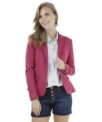 Resultado de imagem para blazer feminino com shorts jeans