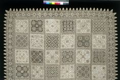 Cover of needle lace, Italy, Museum Number Needle Lace, Bobbin Lace, V & A Museum, Lace Making, Metal Working, 16th Century, Tudor, Cover, Prints