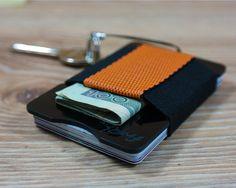 fr4™ Minimalist G10 Black Slim Front Pocket Wallet by fr4studio