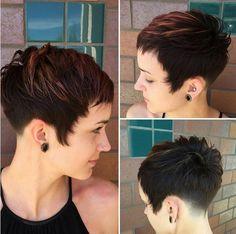Mignon, Styles Facile Balyage cheveux avec Pixie Cut