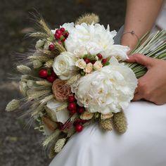 Il bouquet di Patrizia by Le Ragazze di Flò, giugno 2016 @Luisa Veronese Photography #vintage #chic #wheat