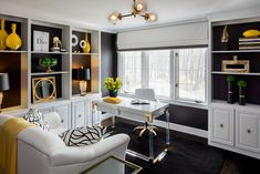 Thank you to all of you who visited the Junior League of Hartford Designer Showhouse this May!  Here is the inside scoop on how we transformed the home office. #interiordesign #homeoffice #officedesign #interiors #design