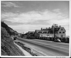 The home of Marion Davies seen from Palisades Beach Road1924-1987
