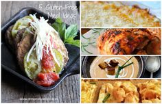 5 Gluten Free Meal Ideas Pt. 1 -- great and yummy GF recipes for you to try today!:)