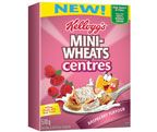 Save $1.00 - Mini-Wheats* Centres Raspberry Flavoured Cereal.  Print and Save with coupons from webSaver.ca