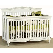 Pali Designs Mantova Forever Crib - White
