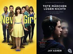 Neue Serien und Staffelstarts Deutschland KW 20 2018 #serienplaner #serienguide #playsoftheweek  #newgirlonfox #13reasonswhy