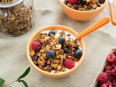 Granola, Acai Bowl, Cereal, Oatmeal, Breakfast, Friends, Acai Berry Bowl, Breakfast Cafe, Amigos