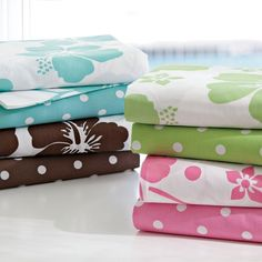 Girl's new bedding from Pottery Barn