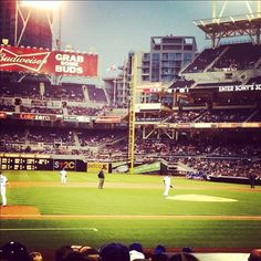 Nothing says #summer in #SanDiego like a #Padres game. Catch a home game at Petco Park!