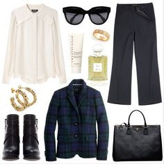 Winter work outfit by Seafarer  To see more details visit our Polyvore profile at http://polyv.re/1bjRhim