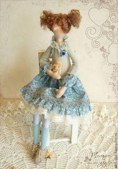 Купить Кукла Тильда: Юляша - тильда, кукла Тильда, куклы тильды, текстильная кукла