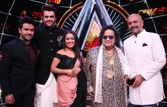 Singing legend Bappi Lahiri for Diwali special episode on Indian Idol 10 Sony Entertainment Television, Indian Idol, Bollywood News, Diwali, Singing, Entertaining, Coat, Music, Number