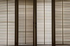 Timber Shutters Melbourne, Wooden Shutters for Sale - Amaru Canberra & Melbourne Windows, Wood Shutters, Shutters, Window Treatments, Blinds, Wood, Window Styles, Timber, Popular Window Treatments