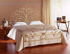Wrought-iron Bed , Find Complete Details about Wrought-iron Bed,Wrought-iron Bed from Beds Supplier or Manufacturer-Iron Bedroom Furniture Beds, Iron Furniture, Wrought Iron Beds, Master Bedrooms Decor, Bedroom Bed Design, Bed Design, Rooms Home Decor, Gold Bedroom Decor, Luxurious Bedrooms