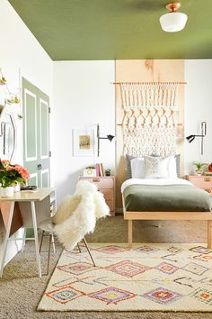 A Boho Bedroom Makeover That'll Make Your Jaw Drop #refinery29