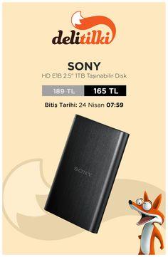 Sony Taşınabilir Disk, Fırsatın Dibi'ne özel fiyatı ile Delitilki'de! www.delitilki.com