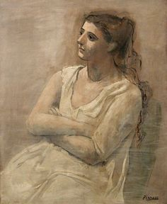 Woman in White ~ Picasso