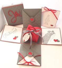 **Ein wunderbares und außergewöhnliches Geschenk zur Hochzeit! Diese Schachtel ist einfach klasse!!!**  Diese aufwendig gearbeitete Explosionsbox eignet sich hervorragend, um ein Geldgeschenk zu...