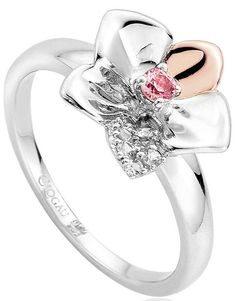 Clogau Ring Orchid Silver | C W Sellors Fine Jewellery and Luxury Watches