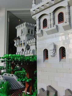 Lego Castle view | Flickr - Photo Sharing! tablizm
