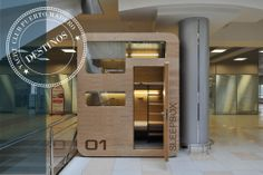 Descansar entre destino y destino. Nap Pods en Aeropuertos   por Condé Nast Traveler   http://lnkd.in/bDNj_wK