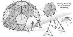Resultado de imagen para 1v geodesic dome