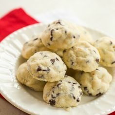 Chocolate Chip Tea Cookies | Christmas Cookies | Brown Eyed Baker