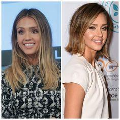 Chop, Chop: 21 Celebrities Go From Long to a Long Bob: Jessica Alba's Long Bob