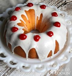 Make this absolutely delicious Maraschino Cherry Bundt Cake for your ...
